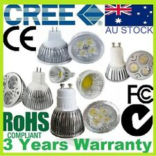 CREE MR16 GU10 LED DOWNLIGHTS Bulb Lamp 7W COB 9W 12W 15W WARM COOL NON DIMMABLE