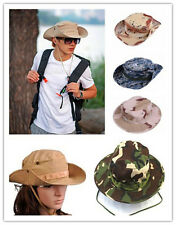 GO Bucket Hat Boonie Hunting Fishing Outdoor Cap - Wide Brim Military Boonie Hat