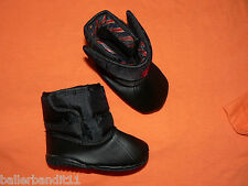 Polo Ralph Lauren infant baby crib shoes boots winter Vancouver black