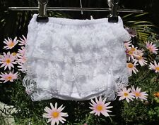 BABY GIRL BLOOMERS RUFFLE NAPPY COVER  17 x styles in 3 x sizes   AUSSIE SELLER