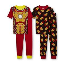 New! Choose a 2 Piece Short Sleeve Ironman Pajamas Set Size 6