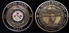 ~ USS Burke ~ Ship 4 Spec OPS (800's div) ~ Navy Recruit Training Command Coin ~