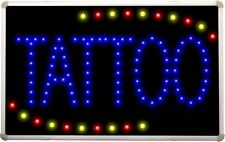 led007 Tattoo Shop OPEN LED Neon Business Light Sign
