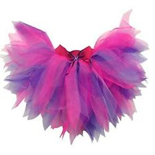 Neon Tutu SKIRT Pink Purple 80s Fancy Dress Hen Party Fun Run 6 Layer Plus Size