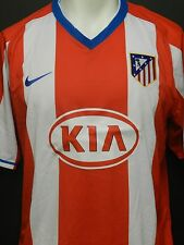 Nike Athletico Madrid Soccer Home Jersey 2007-2008 Red & White