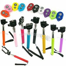 Monopod Tripod Mount + Bluetooth Wireless Remote Self-Control + Holder for Phone