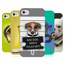 HEAD CASE FUNNY ANIMALS GEL BACK CASE COVER FOR APPLE iPHONE 4S