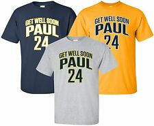 """""""Get Well Soon"""" T-Shirt Sz S-4XL paul george recovery indiana pacers basketball"""