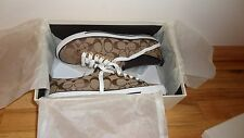 Coach C-Logo Suzzy Sneakers - 100% Authentic - NIB
