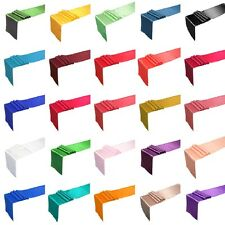 "12"" x 108"" Satin Table Runner Wedding Party Decorations 25+ Colors, you choose"