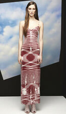 MISSONI Red White Sequin Dress Gown 40 4 or 42 6