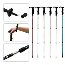 Hiking Stick Trekking Cane Anti Shock Walking Alpenstock Adjustable Walk Pole