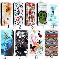 Floral Printed Flip PU Leather Case Cover Pouch for SAMSUNG GALAXY S II S2 i9100
