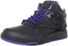 Reebok Men's Pump Omni Lite Black/Fearless Purple Fashion Sneaker
