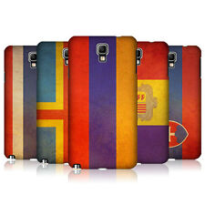 HEAD CASE DESIGNS VINTAGE FLAGS SET 4 CASE FOR SAMSUNG GALAXY NOTE 3 NEO N7505