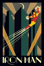 New Marvel Deco Iron Man Poster
