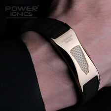 Power Ionics LIMITED EDITION 3000ions Titanium Ge F.I.R Armband Band Gesundheits