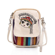 Nation Wind Cute Wallet Purse Coin Cell Phone Case Mobile Bag Crossbody Pouch