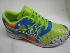 MENS TRAINERS AIRTEC ACTIVE GREEN BLUE ORANGE