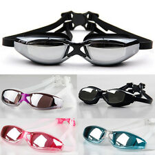 Professional Waterproof Anti-Fog UV Protection Swimming Goggles Adjustable Strip