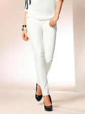Stretch-Jeggings in Lederoptik, Laura Scott, wollweiß. NEU!!!%%%SALE%%%