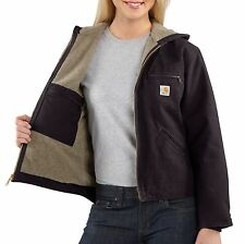 Carhartt Women's Sandstone Sierra Jacket w/ Hood 4 Different Color Variations!