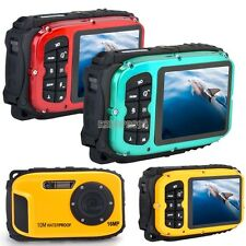 16MP Waterproof Digital Video Camera DV Sound 8x Camcorder Underwater 10M Diving