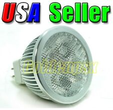 4W Low Voltage 12V 4x1W Cool Pure White LED Diffused Lens Path Track Light MR16