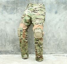 Multicam CP Gen2 style Tactical Combat Pants with Pad set for airsoft paintball
