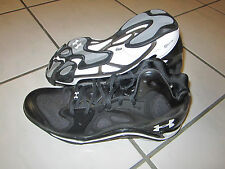 Under Armour Micro G Anatomix Spawn  Basketball man black/white shoes  Brand New