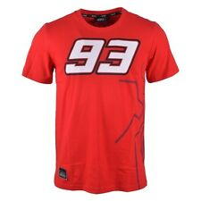 New official marc marquez 93 red shirt 2014