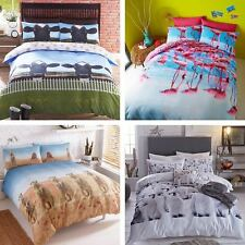 Animal Animals Print New Single Double King Size Duvet Quilt Cover Bedding Set