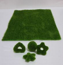 Artificial Turf Moss 4 Shape Grass Plants Home office DIY Decoration