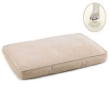Plush Ortho-Bliss Memory Foam Dog Beds