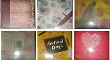 MEMORIES SCHOOL LOVE ALL OCCASION BLANK SCRAPBOOK ALBUM 20 PAGES 12 x 12 - Pick