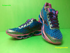 Mizuno Wave Prophecy 3 Running Shoes (W) Blue/Pink J1GD140002 NEW 2014