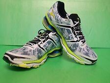 Mizuno Wave Creation 15 Running Shoes (M) White/Green J1GC140140 NEW 2014
