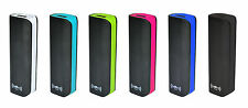 DBV Power DASH 2600mAh Mobile Power Bank with Samsung High Reliability Cell