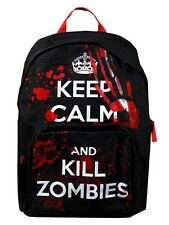 New Keep Calm and Kill Zombies Backpack