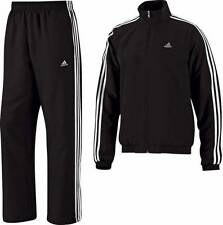 Adidas Essential 3 Stripe Woven Climalite Tracksuit Clima 365 Mens Tall BNWT