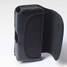 Cell Phone Leather Carrying Holster Cover Case Pouch Side Clip with Belt Loops