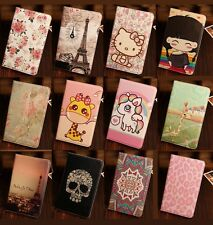 Cartoon Smart Wallet Case Cover For Samsung Galaxy Tab 3 Lite 7.0'' T110 / T111