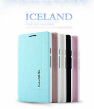 KLD ICELAND Slim PU Leather Side Flip Case Cover Book Pouch For Huawei Ascend P6