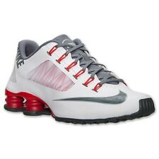 Mens Nike Shox Superfly R4 White Red Running Shoe Size 8 8.5 9 9.5 10 10.5 11 12