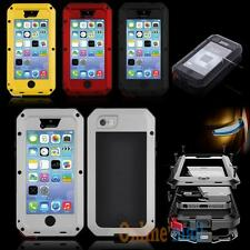 NEW Aluminum Gorilla Glass Metal Cover Case for iPhone 5C Waterproof Shockproof