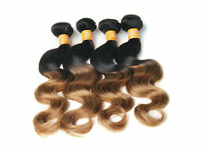 "1 BUNDLE WIGISS 10""-30"" BODY WAVE 1B27# 50G  INDIAN REMY UNPROCESSED HUMAN HAIR"