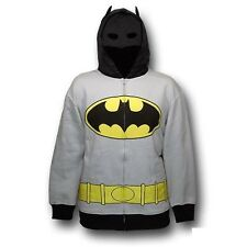 Batman Symbol Costume DC Comics Licensed Adult Hoodie S-XXL