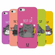 HEAD CASE WILBUR THE PROFESSIONAL TPU GEL BACK CASE COVER FOR APPLE iPHONE 5S