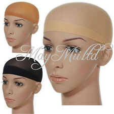 Hot Sale 2pcs Unisex Stocking Wig Liner Cap Snood Nylon Stretch Mesh New J