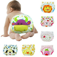 6PCS Baby Cotton Waterproof Reusable Nappy Diaper LABS Training Pant Briefs,BP41